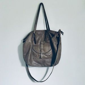Lucky Brand green leather bag